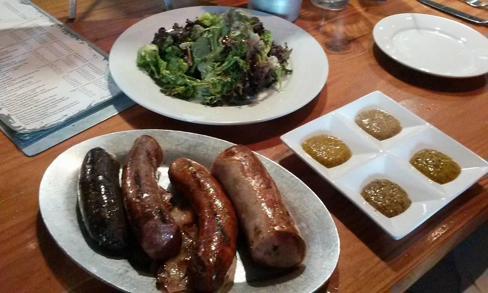 Sausage & Salad
